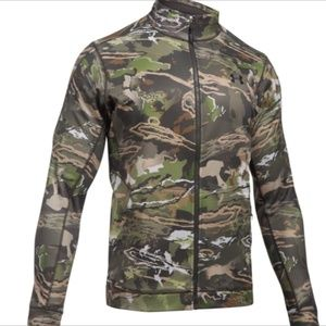 Under Armour Forest Camo Full zip Hunting Jacket